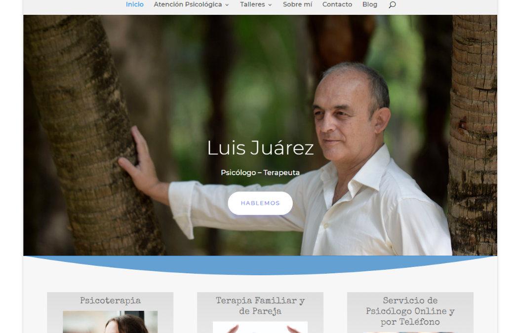 Luis Juárez Castillo – Psicólogo