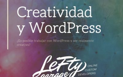 ¿Podemos ser creativos en WordPress?